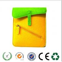 Wholesale New products  zipper design felt laptop bag ,6 colors available from china suppliers