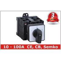Wholesale Electrical 5 Position Selector Switch Push Button , Industrial Rotary Disconnect Switch from china suppliers