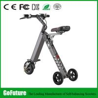 Wholesale Light Weight Hub Motor Three Wheeled Electric Scooters For Personal Travel 500W from china suppliers