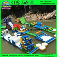 Wholesale Sea Inflatable water gmae slides inflatable water park for sale Giant water game from china suppliers