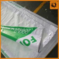 shanghai factory hanging high quality flex banner for sale