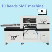 Wholesale Granite Table Top Pick And Place Machine , 10 Heads LED Chip Mounter from china suppliers