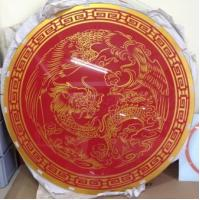 Wholesale Decorative Art Wall Screen Printed Mirror home deco wall mounted from china suppliers