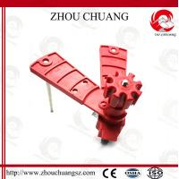 Wholesale CE certificated Universal butterfly valve lockout circuit breaker lock from china suppliers