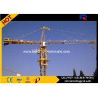 Wholesale Hammerhead Fixed Tower Crane , Large Construction Cranes 30M Freestanding Height from china suppliers