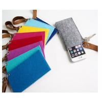 Wholesale cute felt  cell phone bag / handmade mobile pouch/ felt jewelry pouches from china suppliers