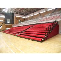 Wholesale Aluminum Collapsible Bleachers Seating Firepoof For School Sports High Load Capacity from china suppliers