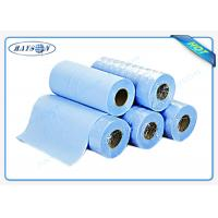 Wholesale Light Blue Disposable Bed sheet PP Nonwoven Massage Bedsheet Roll for Hospital from china suppliers