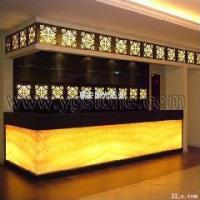Wholesale Customize Translucent Resin Panel Hotel Decoration Furniture from china suppliers