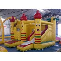 Wholesale Durable PVC Inflatable Combo , Party Castle Bounce House With Slide from china suppliers
