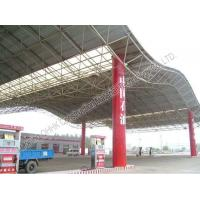 Wholesale Gas Station Light Steel Roof Trusses with Steel Space Frame Canopy from china suppliers