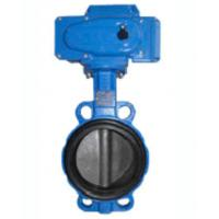 Wholesale Electric Wafer Centerline Butterfly Valves , Ductile Iron Butterfly Valve from china suppliers