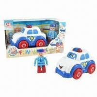 Wholesale B/O Funny Police Toy Car with Figurine, Touchsensitive from china suppliers