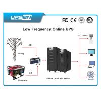 Wholesale Dual AC Input Low Frequency Online UPS 10K - 100Kva Short Circuit Protect from china suppliers