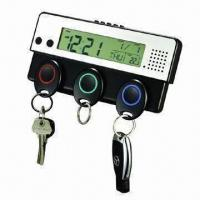 Wholesale Digital Voice Recorder LED Clock with Key Holder, 3 Keyring Absorbs on Unit from china suppliers
