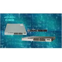 Wholesale 24 Port Optical Ethernet Switch WS-C3850-24T-S Performance Switching Capacity 88 Gbps from china suppliers