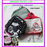 Wholesale usb cooler bag, usb lunch bag, USB Heating Lunch box, cooler bag from china suppliers