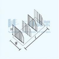 Wholesale Separated Supermarket Wire Book Countertop Display Rack with Factory Price from china suppliers