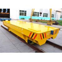 Wholesale OEM mill equipment flat deck electricity driving track transport car from china suppliers