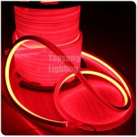 Wholesale hot sales long life 24v red color square led neon flex rope light ip67 from china suppliers