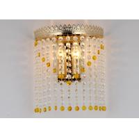 Wholesale Iron Crystal Interior Wall Lights Living Room L230* S140 * H310 from china suppliers