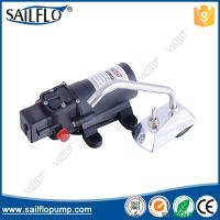 Buy cheap Sailflo 12V  4.3LPM diaphragm pressure water pump + electric faucet from wholesalers