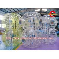 Wholesale Logo Printed Inflatable Bumper Ball / 1.5m Height Adult Inflatable Bumper Ball from china suppliers