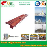 Wholesale Longitudinal Oil Fired Boiler Header Manifold Once Through For Power Plant from china suppliers