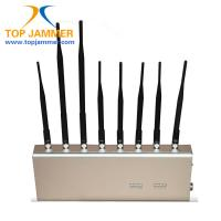 New 8 Bands Classroom Cellphone Signal Jammer Block GSM 3G 4G LTE Wifi GPS Lojack UHF VHF