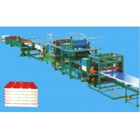 Wholesale EPS PU Rockwool Sandwich Roof / Wall Panel Making Machine Roll Forming Equipment from china suppliers