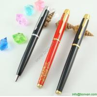Wholesale gift advertising printed metal roller ballpen set from china suppliers