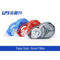 Blue Colored Correction tape Large Capacity 5mm * 38m NO.T-9805