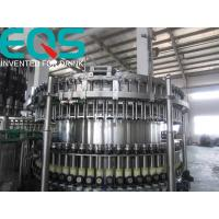 Wholesale SUS304 Material Beer Bottling Machine Line , Beer And Beer Bottle Filler Machine from china suppliers