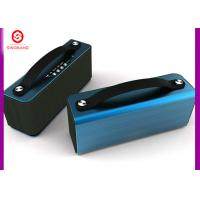 Wholesale FM Rradio Bluetooth Speaker , Heavy Metal + Leather Handle Wifi Bluetooth Speaker from china suppliers