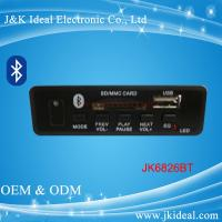 Quality JK0061BT  Bluetooth aux sd card usb fm module mp3 player circuit board for sale