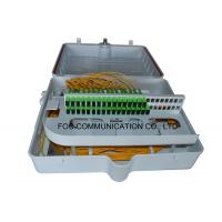 Wholesale ABS PLC Splitter Fiber Termination Box 48 Core With Pre-Installed Fiber Splitters from china suppliers