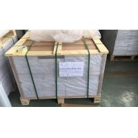 Wholesale 0.1Mm Overlay Transparent Plastic Sheets With Glue Film For Offset Printing , 0.06mm-0.10mm from china suppliers