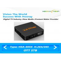 Wholesale Plastic Small IPTV WIFI Set Top Box DC 5V / 2A JPEG / PNG Photo Playback from china suppliers
