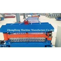 Wholesale Metal Color Corrugated Roll Forming Machine With 18 Stations Forming Rollers from china suppliers
