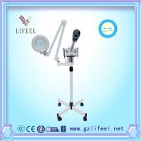 Wholesale 2 in 1 portable facial steamer with magnifying lamp with stand from china suppliers
