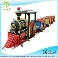 Wholesale Hansel 2017 hot selling kids amusement park rides indoor and outdoor train rides from china suppliers