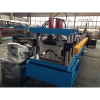 Wholesale Steel Roof Ridge Cap Roll Forming Machine Press Step Type Mobile Protective Mesh from china suppliers