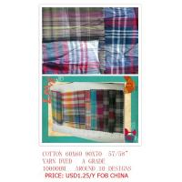 Wholesale cotton yarn dyed shirting fabric from china suppliers