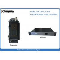 Wholesale NLOS COFDM Microwave Transmitter Full HD Wireless Transmitter And Receiver Short Latency from china suppliers