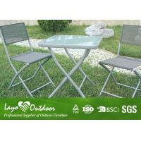 Wholesale 3 Piece Patio Set Outdoor Garden Dining Furniture, Bistro Garden Chairs Aluminum Lawn Furniture from china suppliers