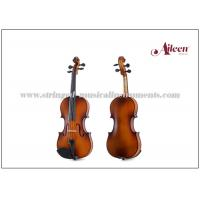 Wholesale Reddish / Matt Brown Color Musical Instruments Violin For Beginners / Student 1/16 - 4/4 Size from china suppliers