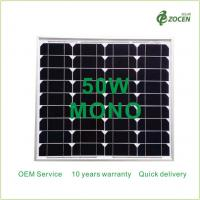 Wholesale Monocrystalline 50W Solar Panels Works in Sunny Overcast Conditions from china suppliers