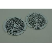 Wholesale 3 Layer Immersion Gold Round Routing Punching V - Cut LED Metal Core PCB 0.5 OZ - 6 OZ from china suppliers