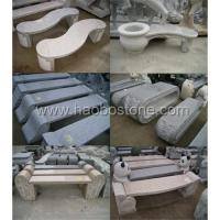 Wholesale Granite marble garden benches from china suppliers