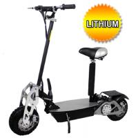 China Brand New 2015 Super Turbo Chrome 1200 watt Lithium Electric Scooter on sale